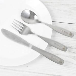 Personalised 3 Piece Train Cutlery Set