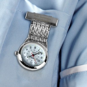 Personalised Nurse's Fob Watch