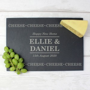 Personalised Cheese Cheese Cheese Slate Cheese Board