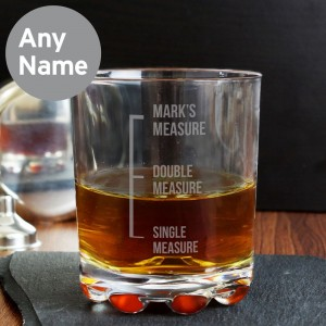 Personalised Measures Tumbler