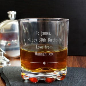 Personalised Diamond Motif Tumbler
