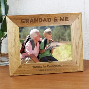 Personalised 7x5 Grandad & Me Photo Frame