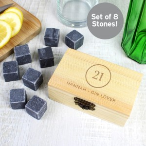 Personalised Birthday Whisky Stones