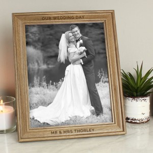 Personalised Free Text 8x10 Wooden Frame