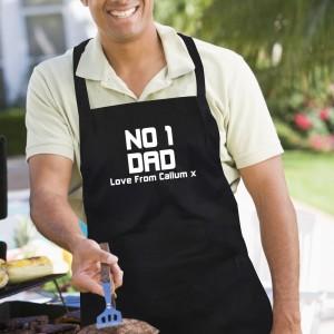 Personalised No1 Dad Apron