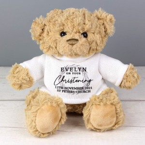 """Personalised """"Truly Blessed"""" Teddy Bear"""