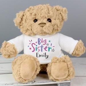 Personalised Big Sister Teddy Bear