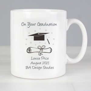 Personalised Graduation Slim Mug