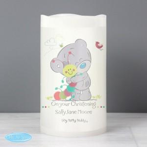 Personalised Tiny Tatty Teddy Cuddle Bug Nightlight LED Candle