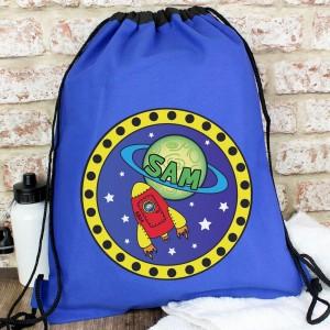 Personalised Space Swim & Kit Bag