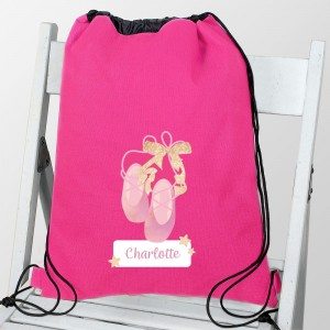 Personalised Swan Lake Ballet Swim & Kit Bag