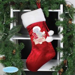 "Personalised Tiny Tatty Teddy ""My 1st Christmas"" Luxury Stocking"