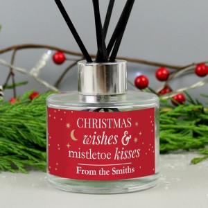 ??Personalised Christmas Wishes Reed Diffuser