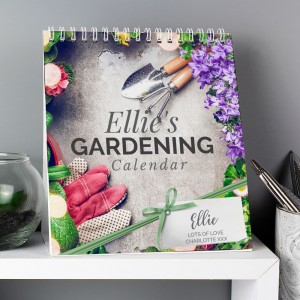 Personalised Gardening Desk Calendar