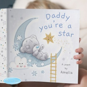 Personalised Tiny Tatty Teddy Daddy Youre A Star Book