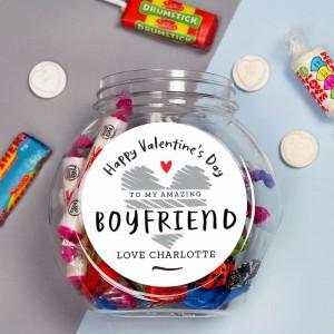 Personalised Valentine's Day Sweet Jar