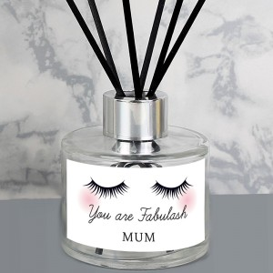 Personalised Eyelashes Reed Diffuser