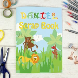 Personalised Animals - A4 Scrapbook