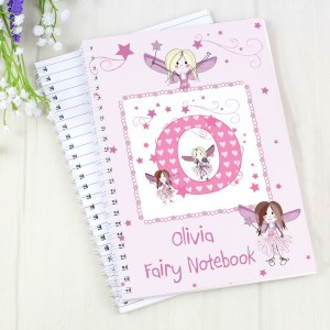 Personalised Fairy - A5 Notebook