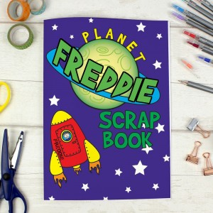 Personalised Space - A4 Scrapbook