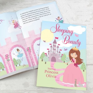 Personalised Sleeping Beauty Story Book