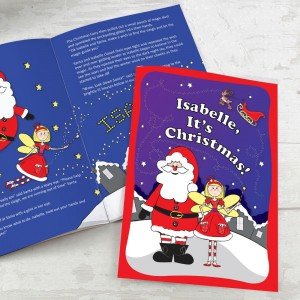 "Personalised ""It's Christmas"" Fairy Story Book"