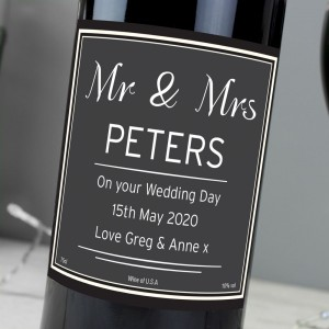 Personalised Classic Red Wine