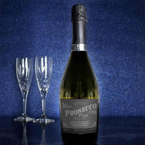 "Personalised ""Prosecco O'Clock"" Bottle of Prosecco"