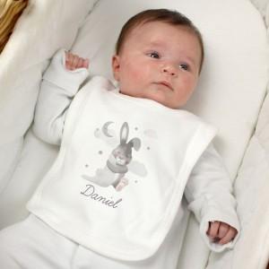 Personalised Baby Bunny Bib