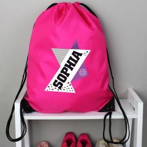 Personalised Dance Pink Kit Bag