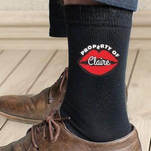 Personalised Property Of Mens Socks