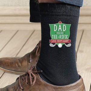Personalised Tee-Rific Mens Socks