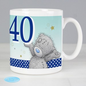 Personalised Me To You Birthday Big Age Male Mug