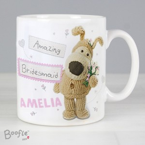 Personalised Boofle Female Wedding Mug