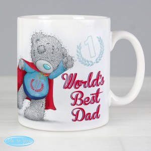 Personalised Me To You Super Hero Mug