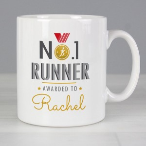 Personalised No.1 Runner Mug