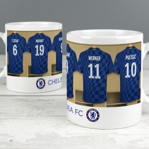Chelsea Football Club Dressing Room Mug