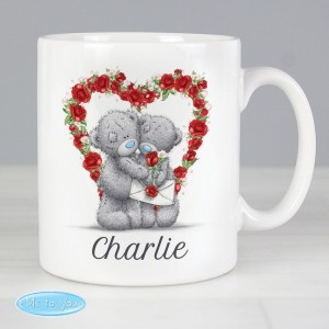 Personalised Me to You Valentine Mug