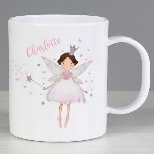 Personalised Fairy Princess Plastic Mug