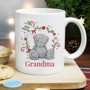 "Personalised Me to You ""For Nan, Grandma, Mum"" Christmas Mug"