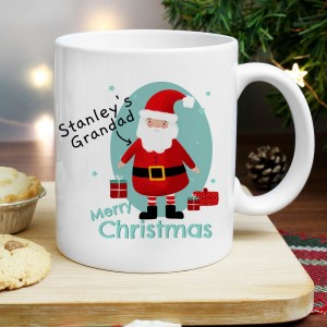 Personalised Mr Claus Mug