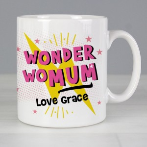 Personalised Wonder WoMum Mug