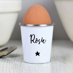 Personalised Star Name Only Egg Cup