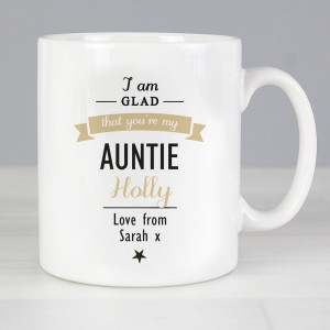 Personalised I Am Glad... Mug