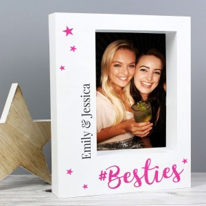 Personalised Besties 5x7 Box Photo Frame