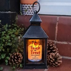 Personalised Trick or Treat Lantern