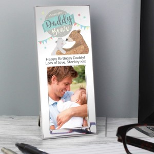 Personalised Daddy Bear 3x2 Photo Frame