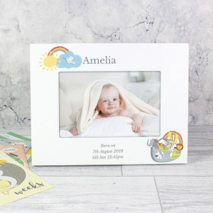 Personalised Noah's Ark 6x4 Landscape Photo Frame