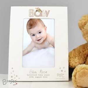 Personalised Boofle Baby 6x4 Photo Frame