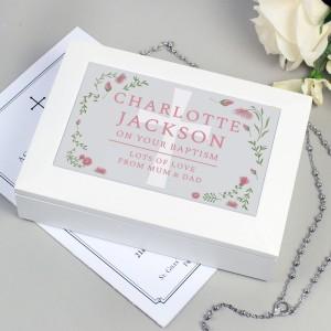 Personalised Religious Jewellery Box